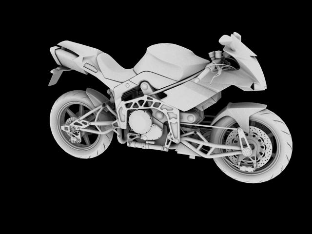 bimota tesi 3d 2012 3d model 3ds max fbx c4d obj 154438