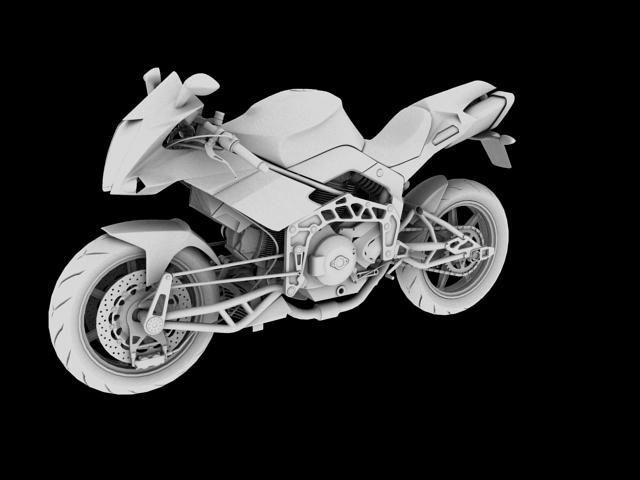 bimota tesi 3d 2012 3d model 3ds max fbx c4d obj 154439