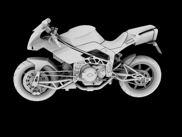 bimota tesi 3d 2012 3d model 3ds max fbx c4d obj 154440