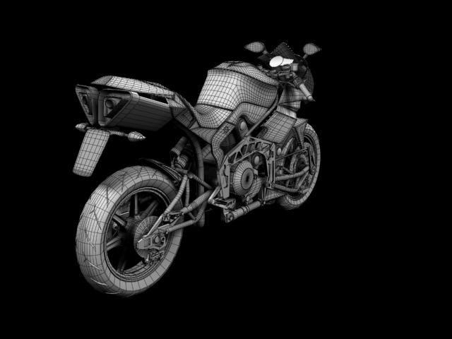 bimota tesi 3d 2012 3d model 3ds max fbx c4d obj 154441