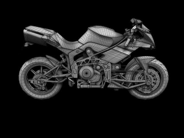 bimota tesi 3d 2012 3d model 3ds max fbx c4d obj 154442