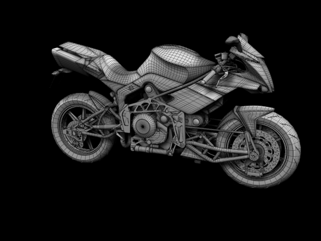 bimota tesi 3d 2012 3d model 3ds max fbx c4d obj 154443
