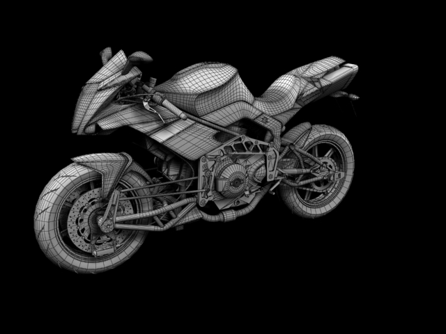 bimota tesi 3d 2012 3d model 3ds max fbx c4d obj 154444
