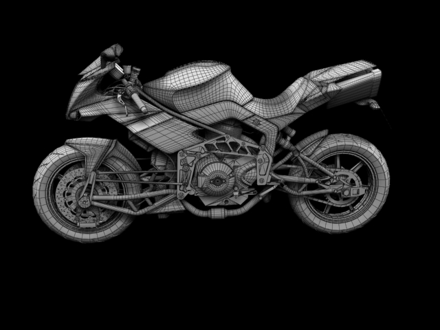bimota tesi 3d 2012 3d model 3ds max fbx c4d obj 154445