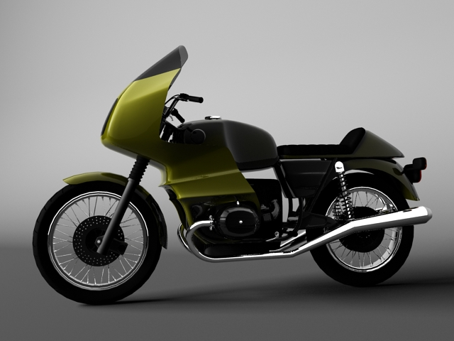 bmw r100 rs obilazak 1978 3d model 3ds max c4d obj 147673