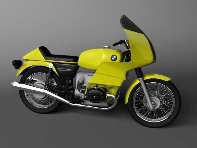 bmw r100 rs obilazak 1978 3d model 3ds max c4d obj 147676