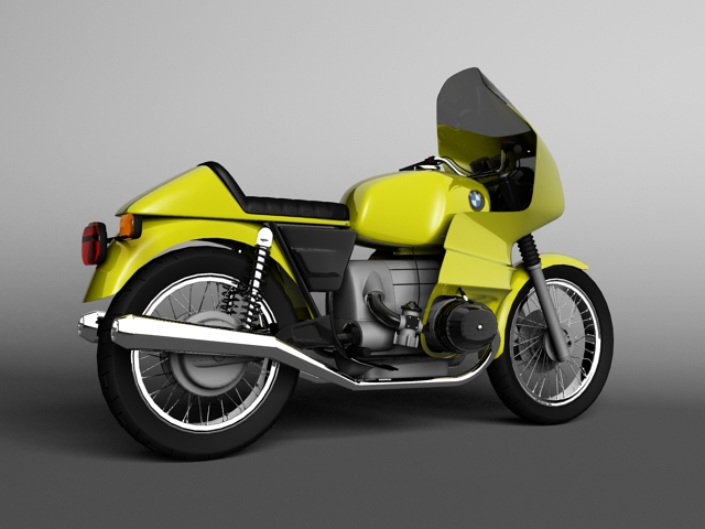bmw r100 rs obilazak 1978 3d model 3ds max c4d obj 147677