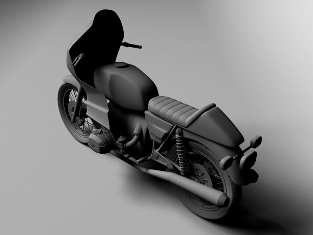 bmw r100 rs obilazak 1978 3d model 3ds max c4d obj 147682