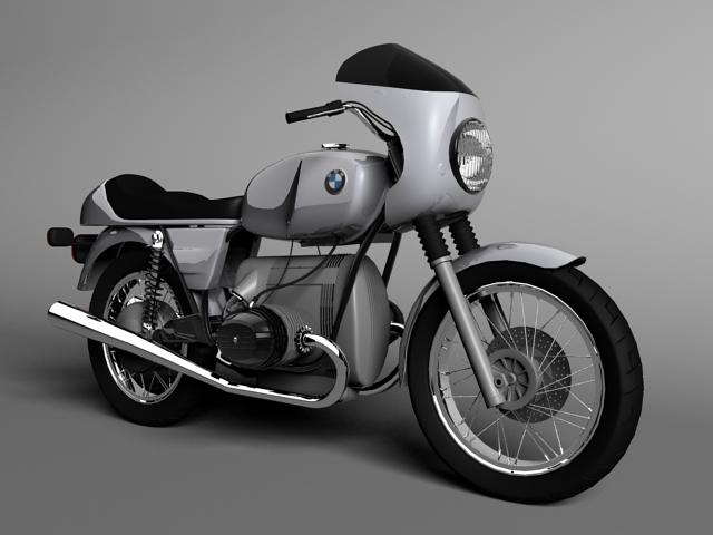 bmw r100 s 1978 3d model 3ds max c4d obj 147764