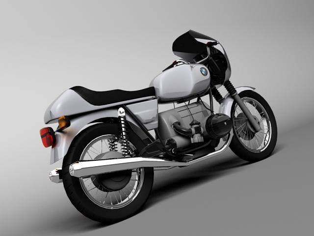 bmw r100 s 1978 3d model 3ds max c4d obj 147765