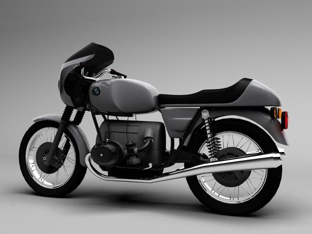 bmw r100 s 1978 3d model 3ds max c4d obj 147766