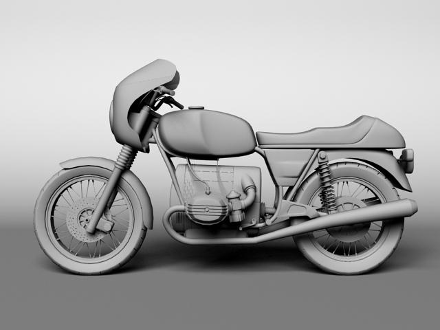 bmw r100 s 1978 3d model 3ds max c4d obj 147773