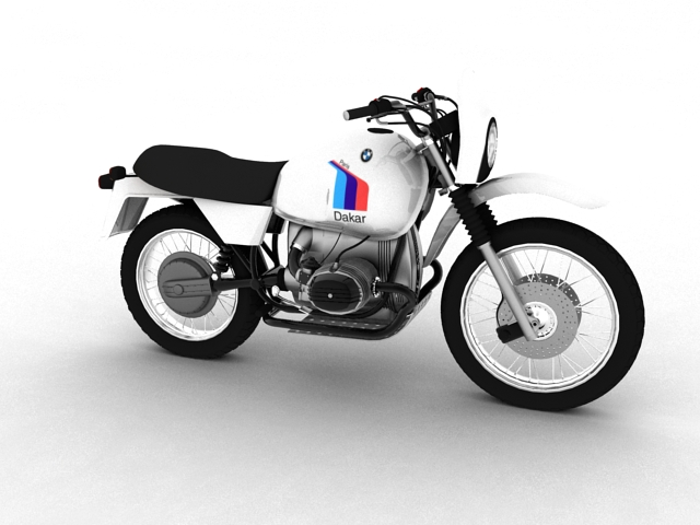 bmw r80 gs 3d model 3ds max c4d obj 148005
