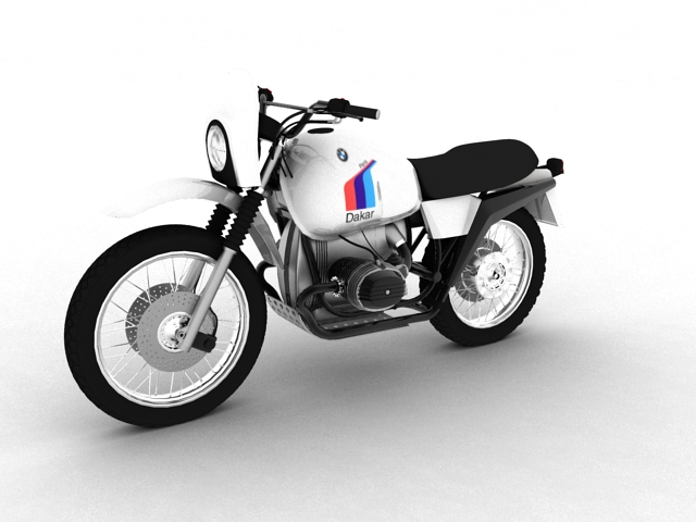bmw r80 gs 3d model 3ds max c4d obj 148006