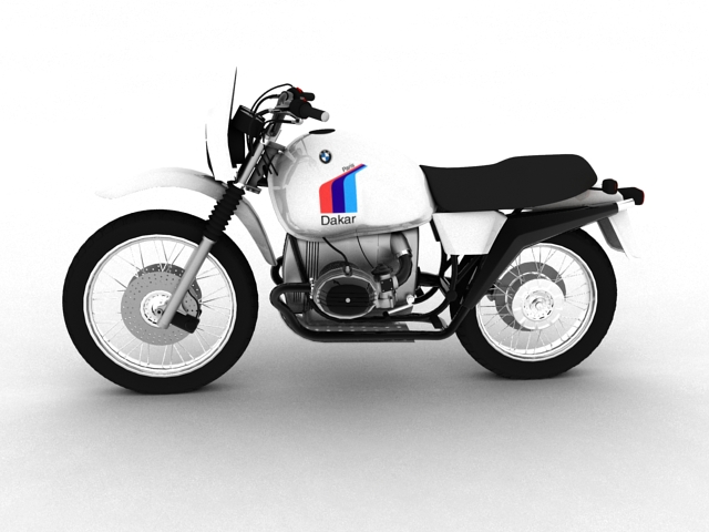 bmw r80 gs 3d model 3ds max c4d obj 148007