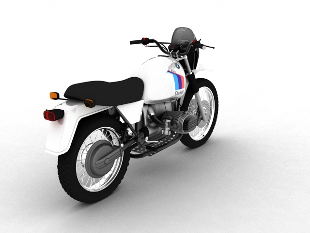 bmw r80 gs 3d model 3ds max c4d obj 148010