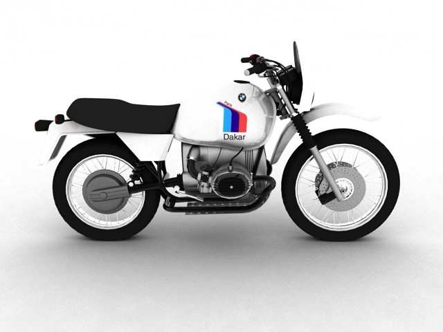 bmw r80 gs 3d model 3ds max c4d obj 148011