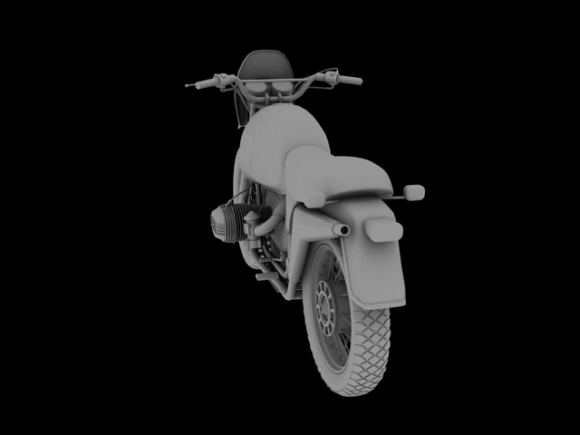 bmw r80 gs 3d model 3ds max c4d obj 148013