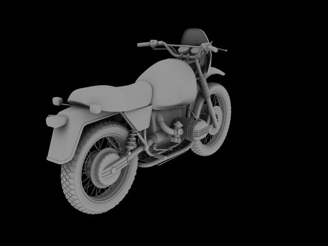 bmw r80 gs 3d model 3ds max c4d obj 148014