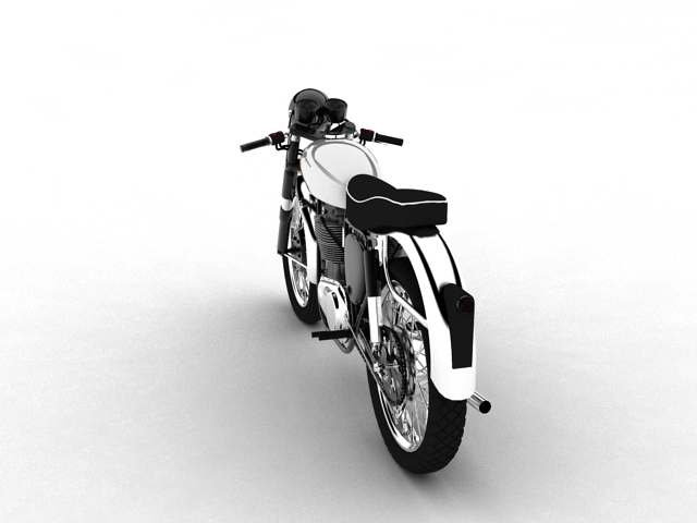 bsa gold star 1960 3d model 3ds max c4d obj 151684