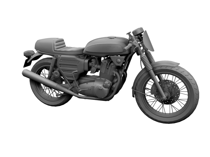 bsa rocket 3 racer 1969 3d model 3ds max dxf fbx c4d obj 164416