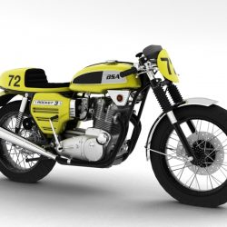 BSA Rocket 3 Racer 1969 ( 226.04KB jpg by gonzo_3d )