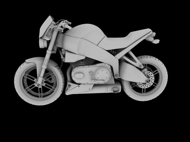 модел xb12s молња 2010 3d модел 3ds макс c4d obj 148095
