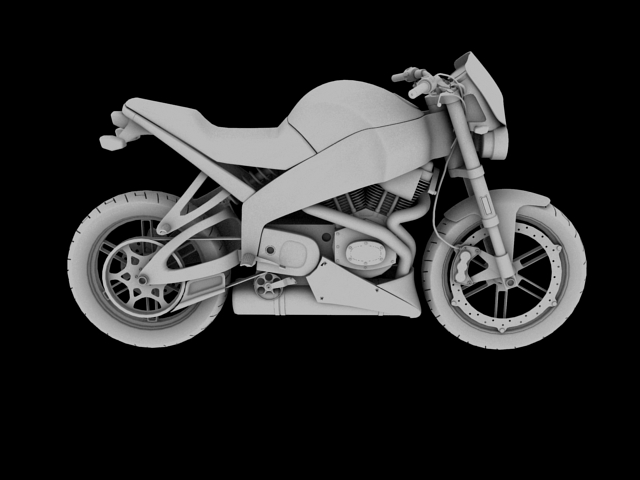 модел xb12s молња 2010 3d модел 3ds макс c4d obj 148099