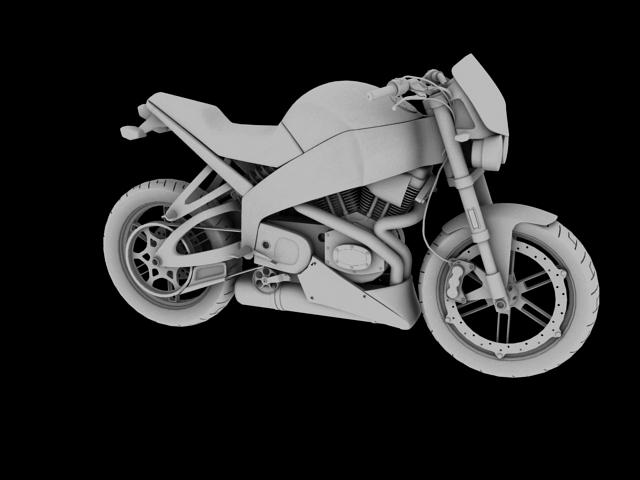 модел xb12s молња 2010 3d модел 3ds макс c4d obj 148100