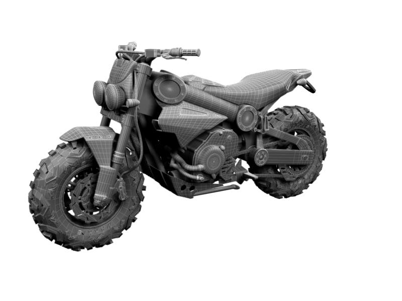 750 2014 3d model 3ds max dxf fbx c4d obj 161225