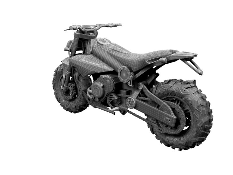 750 2014 3d model 3ds max dxf fbx c4d obj 161227