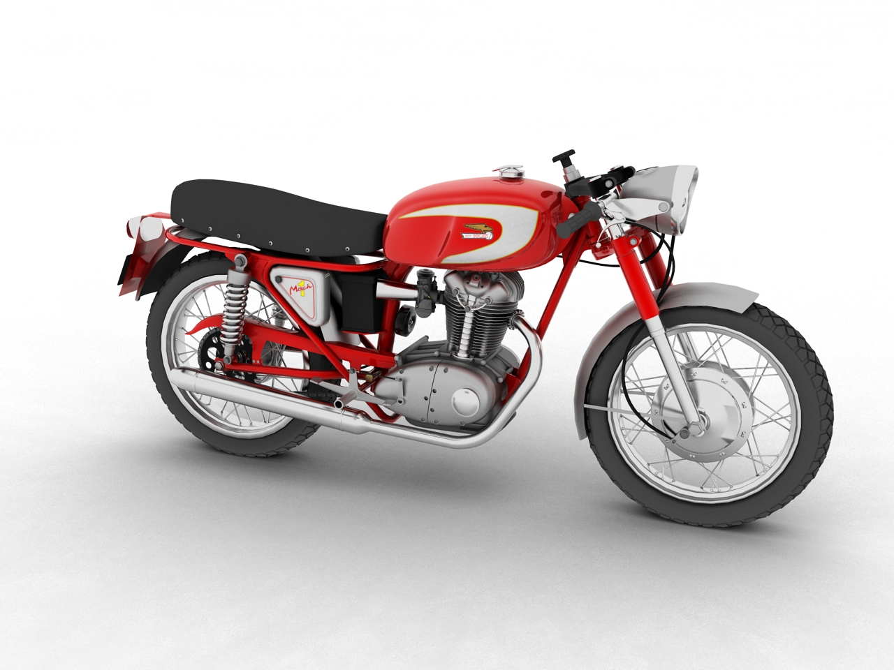 ducati 250 mach 1 1964 3d model 3ds max fbx c4d obj 154923