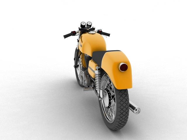 ducati 350 desmo 1971 3d model 3ds max c4d obj 105313