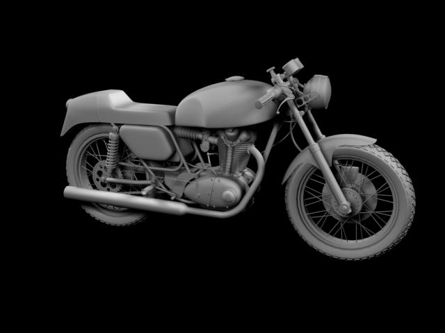 ducati 350 desmo 1971 3d model 3ds max c4d obj 105316