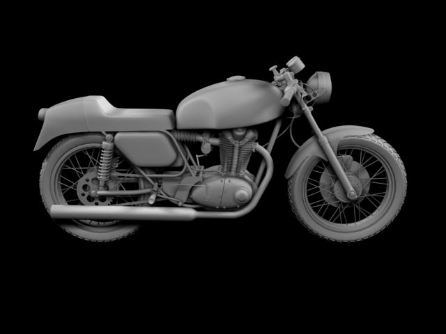ducati 350 desmo 1971 3d model 3ds max c4d obj 105322