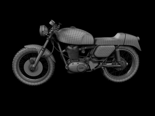 ducati 350 desmo 1971 3d model 3ds max c4d obj 105325
