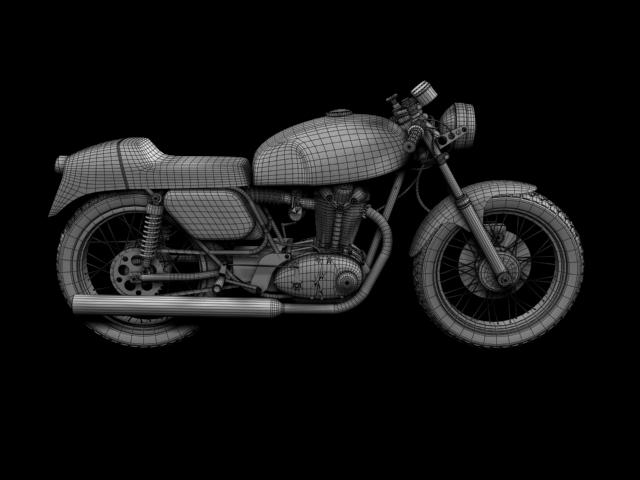 ducati 350 desmo 1971 3d model 3ds max c4d obj 105329