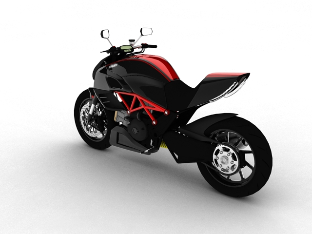 ducati diavel 2011 3d model 3ds max c4d obj 151956