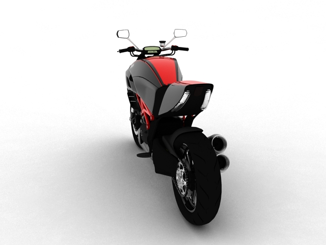 ducati diavel 2011 3d model 3ds max c4d obj 151957