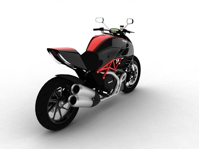 ducati diavel 2011 3d model 3ds max c4d obj 151958