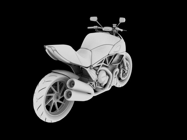 ducati diavel 2011 3d model 3ds max c4d obj 151965