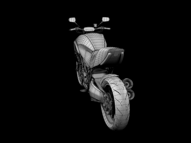 ducati diavel 2011 3d model 3ds max c4d obj 151968