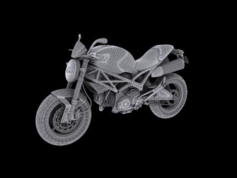 ducati monster 796 2011 3d model 3ds max c4d obj 152274