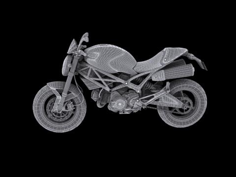 ducati monster 796 2011 3d model 3ds max c4d obj 152276