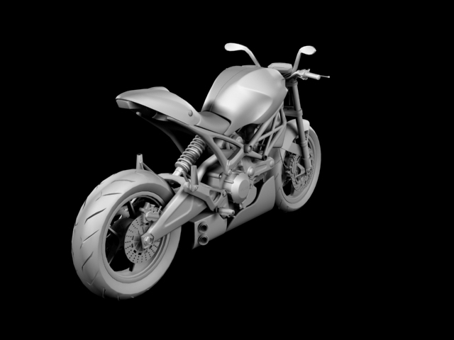 ducati monster 796 racer 2012 3d model 3ds max fbx c4d obj 154757