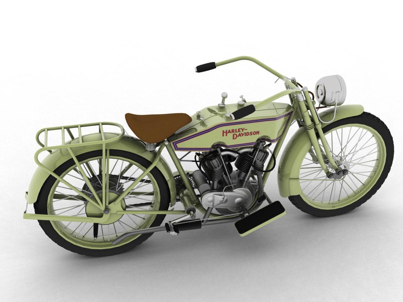 harley-davidson 11j 1915 3d model 3ds max fbx c4d obj 155706