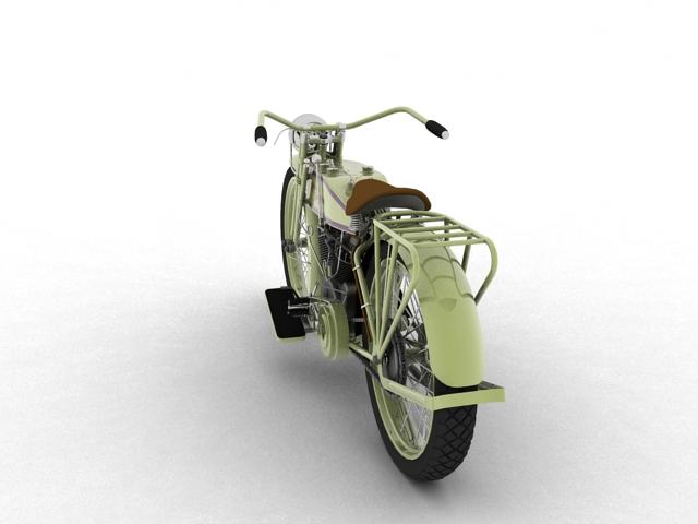harley-davidson 11j 1915 3d model 3ds max fbx c4d obj 155713