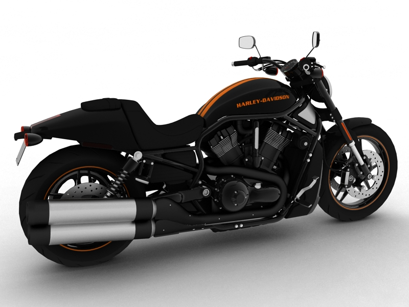 harley-davidson v-rod night rod special 2013 3d model 3ds max dxf fbx c4d obj 155805