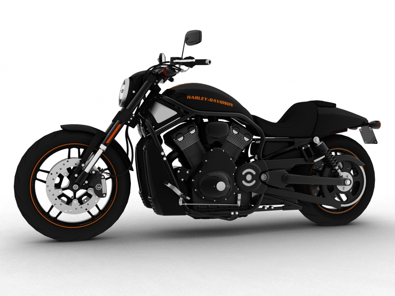 harley-davidson v-rod night rod special 2013 3d model 3ds max dxf fbx c4d obj 155806