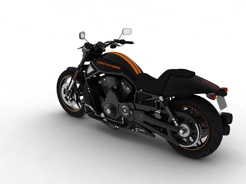harley-davidson v-rod night rod special 2013 3d model 3ds max dxf fbx c4d obj 155810
